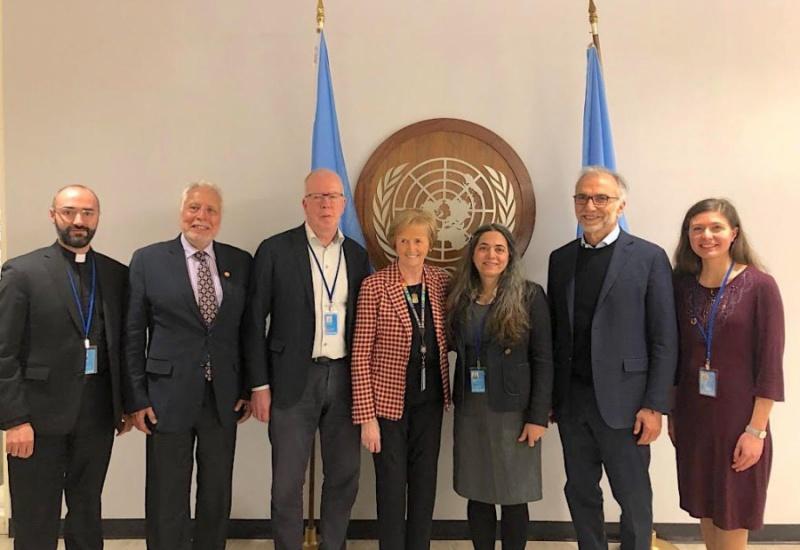 Συμμετοχή της Αρχιεπισκοπής Αμερικής στην εκδήλωση του ΟΗΕ για τους άστεγους
