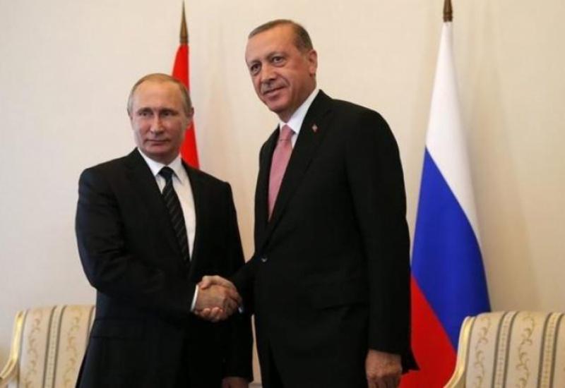 Κρίσιμη συνάντηση Πούτιν - Ερντογάν