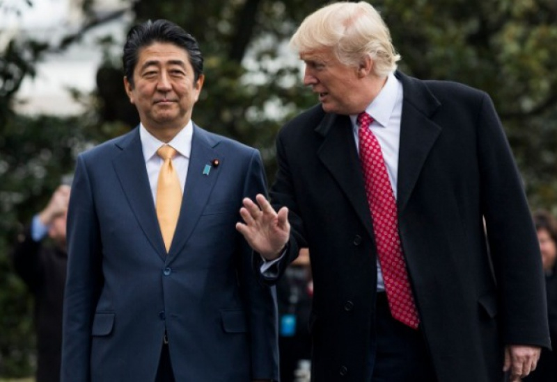Στο Τόκιο ο Ντ. Τραμπ στα τέλη Μαΐου, για συνομιλίες με τον Σ. Άμπε