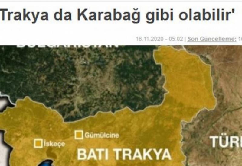 Turkiye: «Η Δυτική Θράκη μπορεί να γίνει σαν το Ναγκόρνο Καραμπάχ»