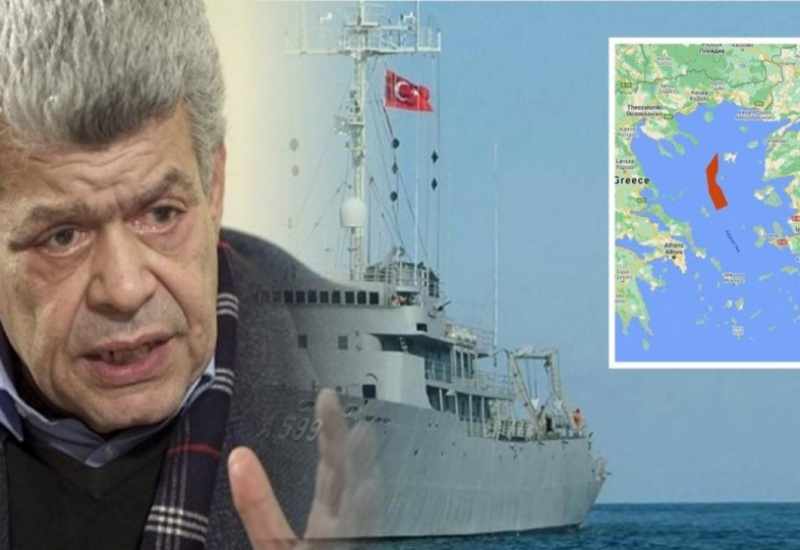 Ελληνοτουρκικά – Μάζης: Βυθίστε το «Τσεσμέ»! Οι Τούρκοι στέλνουν πολεμικό στην καρδιά του Αιγαίου και η κυβέρνηση ονειρεύεται «διερευνητικές επαφές»!
