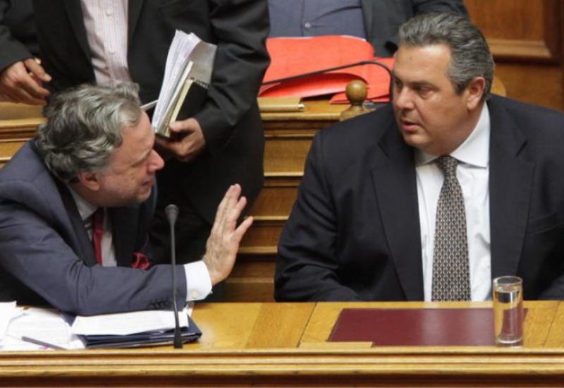 """Αντιπαράθεση στην Βουλή για την """"μακεδονική ιθαγένεια"""""""