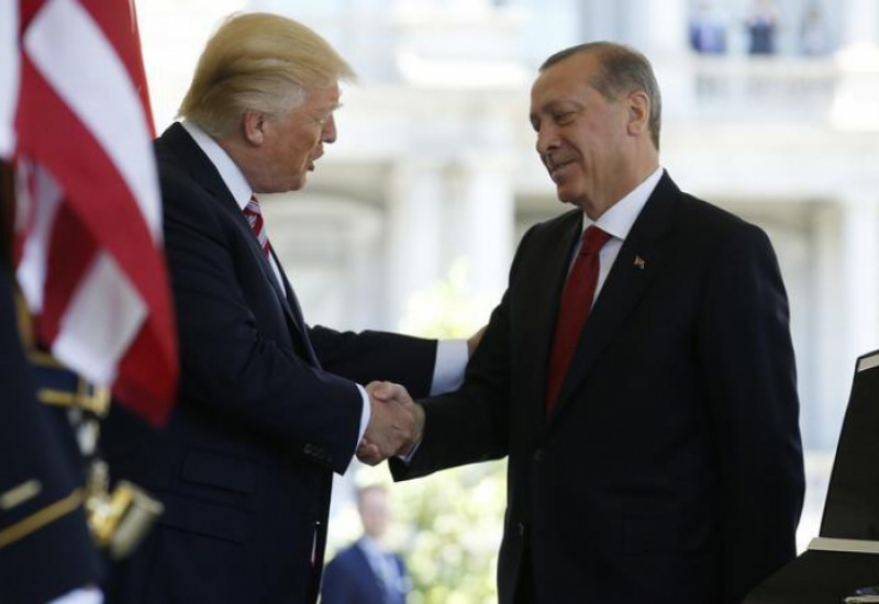 Συνάντηση Τραμπ - Ερντογάν στον Λευκό Οίκο