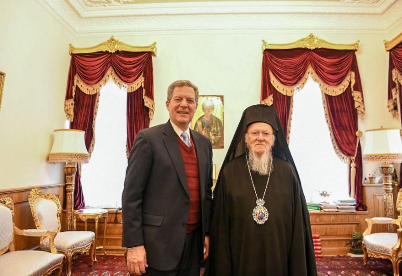 Επίσκεψη στο Οικουμενικό Πατριαρχείο του Πρέσβη Samuel Brownback