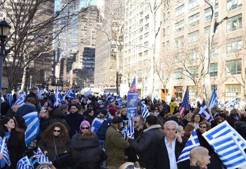Συλλαλητήριο χιλιάδων ομογενών για τα Σκόπια στις ΗΠΑ