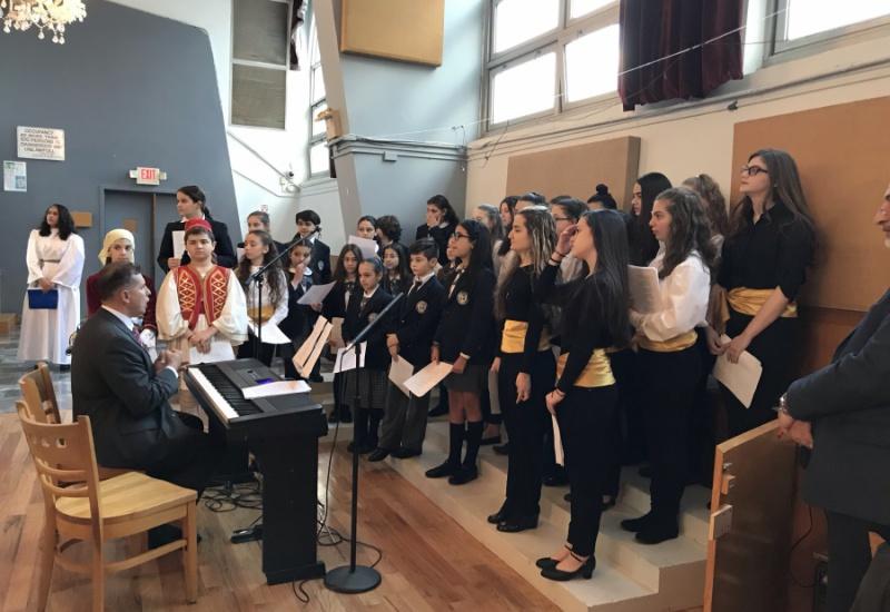 Η γιορτή του σχολείου του Αγίου Δημητρίου για την 25η Μαρτίου