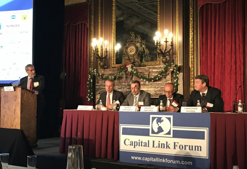 Νέα Υόρκη: Μηνύματα... εξόδου από την κρίση στο συνέδριο της Capital Link