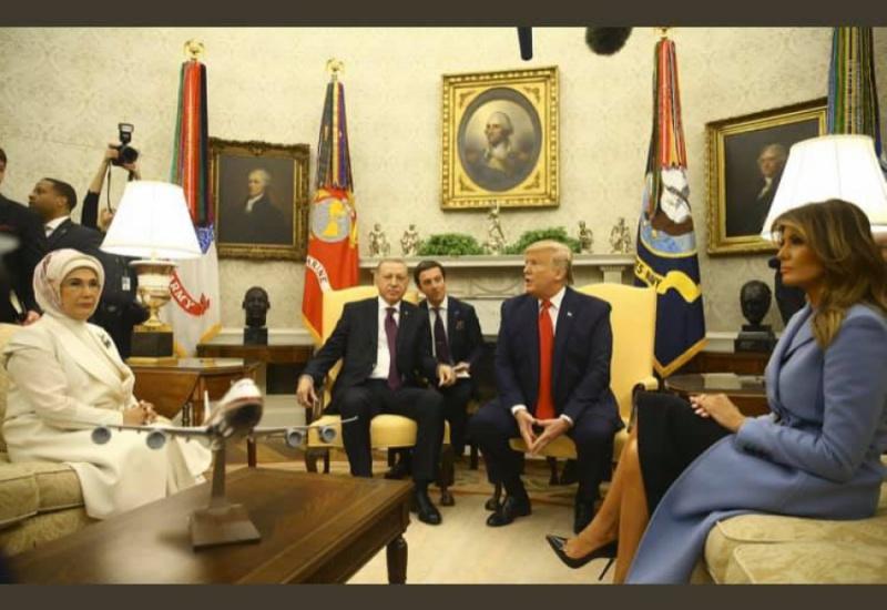 Τραμπ: Είμαστε φίλοι με τον Ερντογάν