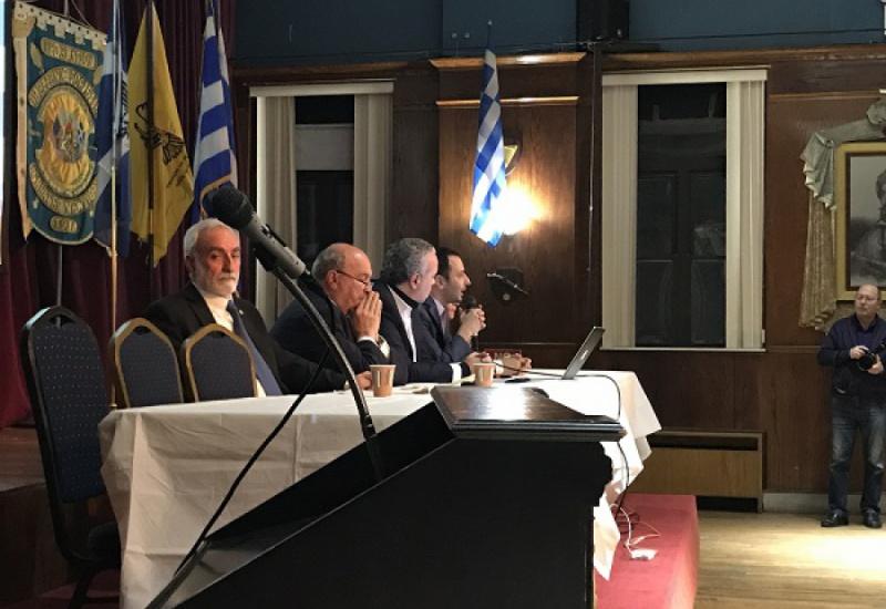 Νέα Υόρκη: Ο Νίκος Λυγερός αποδόμησε την Συμφωνία των Πρεσπών