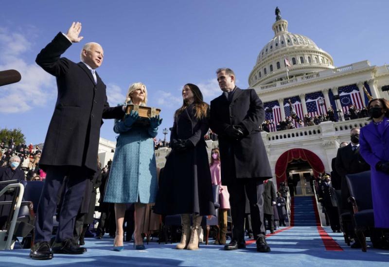 O Tζο Μπάιντεν ορκίστηκε 46ος Πρόεδρος των ΗΠΑ
